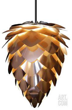 Conia Copper/White Pendant Lamp - Hard-wired Home Accessories at Art.com