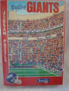 Fandemonium New York Giants Team NFL Puzzle New York Giants Http://www.