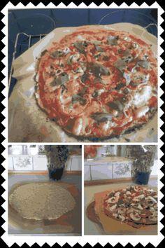 Kålpizza