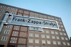 Frank-Zappa-Strasse or Frank Zappa Street Berlin