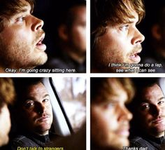 Deeks needs people that care about him <3