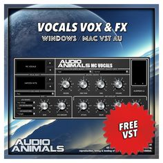 Vocals Vox & FX VST/AU plugin instrument by Audio Animals