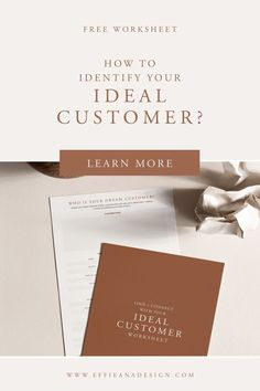 An important process when setting up your business and forms your foundation of everything you do in your business is identifying who you ideal dream (target) customer is. Without knowing who they you won't be able to connect with them. Read more here. Branding Your Business, Business Design, Personal Branding, Craft Business, Business Tips, Online Business, Brand Development Strategy, Business Plan Outline, Brand Marketing Strategy