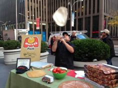 Mark is spinning that dough like the expert that he is! Watch the clip of our Pizza month special with Fox and Friends on our facebook at https://www.facebook.com/MarcosPizza
