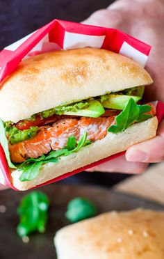 Tips for perfect grilled salmon and a recipe for my favorite Grilled Salmon Sandwiches with Pesto, Avocado, and Arugula: a tasty and healthy summer lunch!