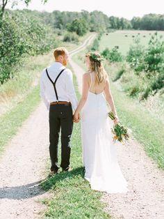 Zeke And Kelly S Idyllic Manitoulin Island Cottage Wedding