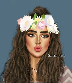girly m - Yahoo Search Results Yahoo Image Search Results Girly M, Girly Girl, Best Friend Drawings, Girly Drawings, Girl Cartoon, Cartoon Art, Snapchat Flower Crown, Sarra Art, Cute Girl Drawing