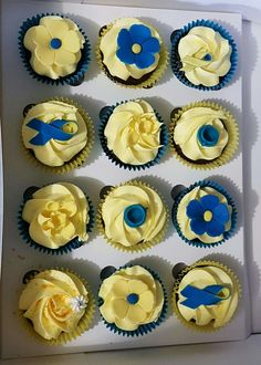 Cupcakes, cancer big breakfast, daffodil, perth