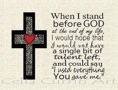 Stand b4 God!!