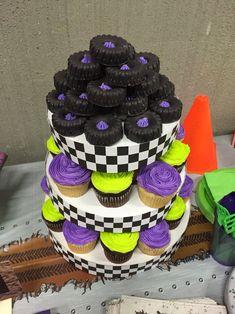 Monster Jam birthday ideas Oreo (cake pop) tires