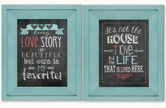 GroopDealz | Love Chalkboard Prints - BUY ONE GET ONE FREE