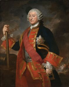 General Jean Louis Ligonier, in the uniform of Colonel of the Royal Regiment of Horse Guards, c.1754 - Royal Horse Guards - Wikipedia