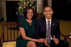 Intercambio de caras: los Obama.