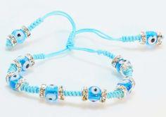 $13.00 #Evil Eye #Shamballa Bracelet #fashion #Stylish