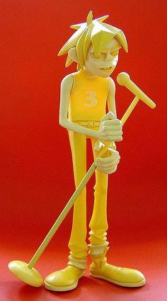 kidrobot gorillaz vinyl figure: version - by j_pidgeon, via… 3d Character, Character Concept, Concept Art, Character Design, Gorillaz, 3d Figures, Vinyl Figures, Action Figures, Toy Art