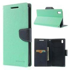 HTC Desire 816 Syaani Fancy Lompakko Suojakotelo  http://puhelimenkuoret.fi/tuote/htc-desire-816-syaani-fancy-lompakko-suojakotelo/