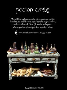 Pixie Dust Miniatures: Wizard's Study
