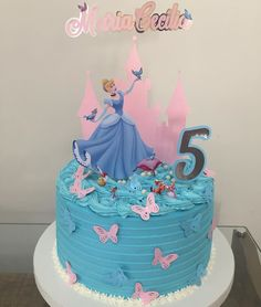 65 ideas and step by step for a magic party - Birthday FM : Home of Birtday Inspirations, Wishes, DIY, Music & Ideas Disney Princess Birthday, Cinderella Birthday, Birthday Fun, Birthday Parties, Magic Party, Birthday Party Centerpieces, Princesas Disney, Party Cakes, Cake Designs
