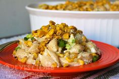 Mexican Street Corn (Elote) Pasta Salad - EYES CLOSED COOKING Stuffed Shells Recipe, Stuffed Pasta, Corn Pasta Salad Recipe, Boneless Pork Ribs, Mexican Street Corn, Avocado Chicken Salad, Sweet And Spicy, How To Cook Pasta, Casserole Dishes