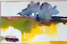 watercolor landscape by betsy leavitt