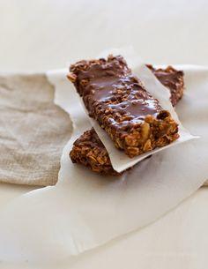 No-Bake Double Chocolate Super Amazing Granola Bars