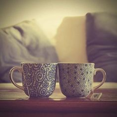 A cuppa together.