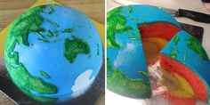 Cake Planets...  How creative!  http://cakecrumbs.me/2013/08/01/spherical-concentric-layer-cake-tutorial/