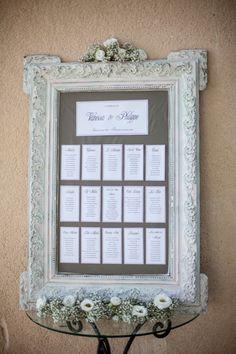 Décoration de Mariage, Déco d'Anniversaire, Baptême, Bar Mitzvah - La Boutique de Juliette - Le plan de tables, atout de choc pour guider vos convives :
