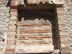 Pompeii Ruins, Western Wall, Satyr, Acanthus, Ancient Rome, Roman Empire, Fresco, Scene, Landscape