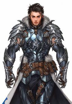 Asker Online / Soul-breaker wolf armor by Woo Kim