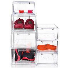 Nomess akryl skoæske str. 1. Altid på lager, hurtig levering