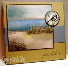 WSC29 Peaceful Sympathy, by M. Zindorf. I am drooling over this card.