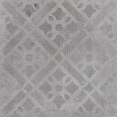 Dekor Sintesi Atelier S grigio 30x30 cm, mat
