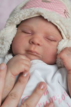 Reborn Baby Girl Doll SIENNA RAE by CASSIE BRACE ♥ Scrumptious Babies ♥ SOLD OUT