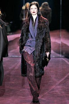 Gucci Fall 2012 Ready-to-Wear Fashion Show - Jacquelyn Jablonski