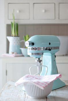 KitchenAid, Ib Laursen, Minty House kitchen, pastels