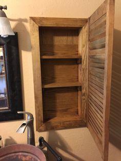 Shutter Medicine Cabinet