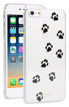 kate+spade+new+york+paw+print+iPhone+6+Plus+case+available+at+#Nordstrom