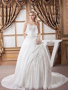 Marni - Бальное платье Атласная свадебном платье с Вышивка - RUB 15999,24руб.