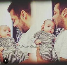 Salman with his nephew