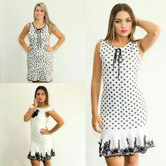 Vestido  Preto e Branco  3 opções para vocês escolher qual combina  mais com você.  Todos estão disponíveis em nosso site.   Acesse já :  WWW.SANTOLLO.COM.BR   Ligue para :  WhatsApp : (34) 88112985  Comercial : (34) 33166586   Visite-nos   Santóllo Modas  Rua : Juca Marinho, 15 (Rua de cima do Ômory)  Bairro São Sebastião  Uberaba /MG   Enviamos para todo Brasil.   #moda #look #girls #vestidos #dress #chic #casual #love ##tendências #bloggers #instadaily #uberaba #minasgerais