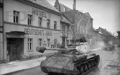 IS-2 speed advance into Germany