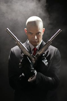 Hitman (Agent 47). Timothy Olyohant! HOTNESS. i would not kick him outta bed for eating crackers.