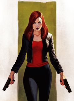 "The Black Widow | ""There's no time for romance. We've got shit to avenge!"""