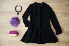 Elegante y EXCLUSIVO 'Little Black Dress' con transparencias que favorece a todas!  > http://www.colettemoda.com/producto/vestido-camisero-negro/