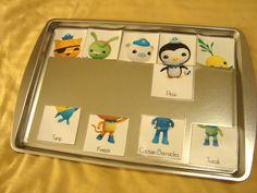 Octonauts Tot Pack Matching Game