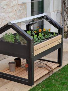 Veg Garden, Garden Boxes, Edible Garden, Indoor Garden, Diy Home Projects Easy, Garden Projects, House Plants Decor, Plant Decor, Flower Shop Decor