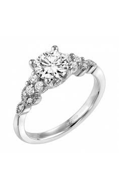 ArtCarved Engagement Ring - 31-V309ERW-E