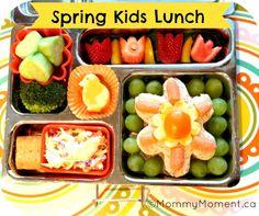 Spring kids Lunch  #gladinspiredlunches