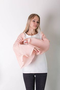 Misew / Tričko s plisovanými rukávmi
